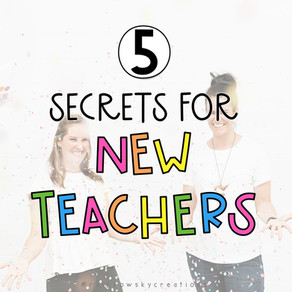 5 Secrets to help you have a successful first year of teaching