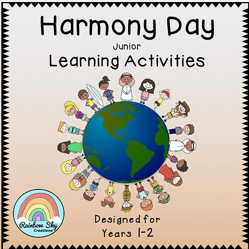 Year 1 - 2  Harmony Day Pack