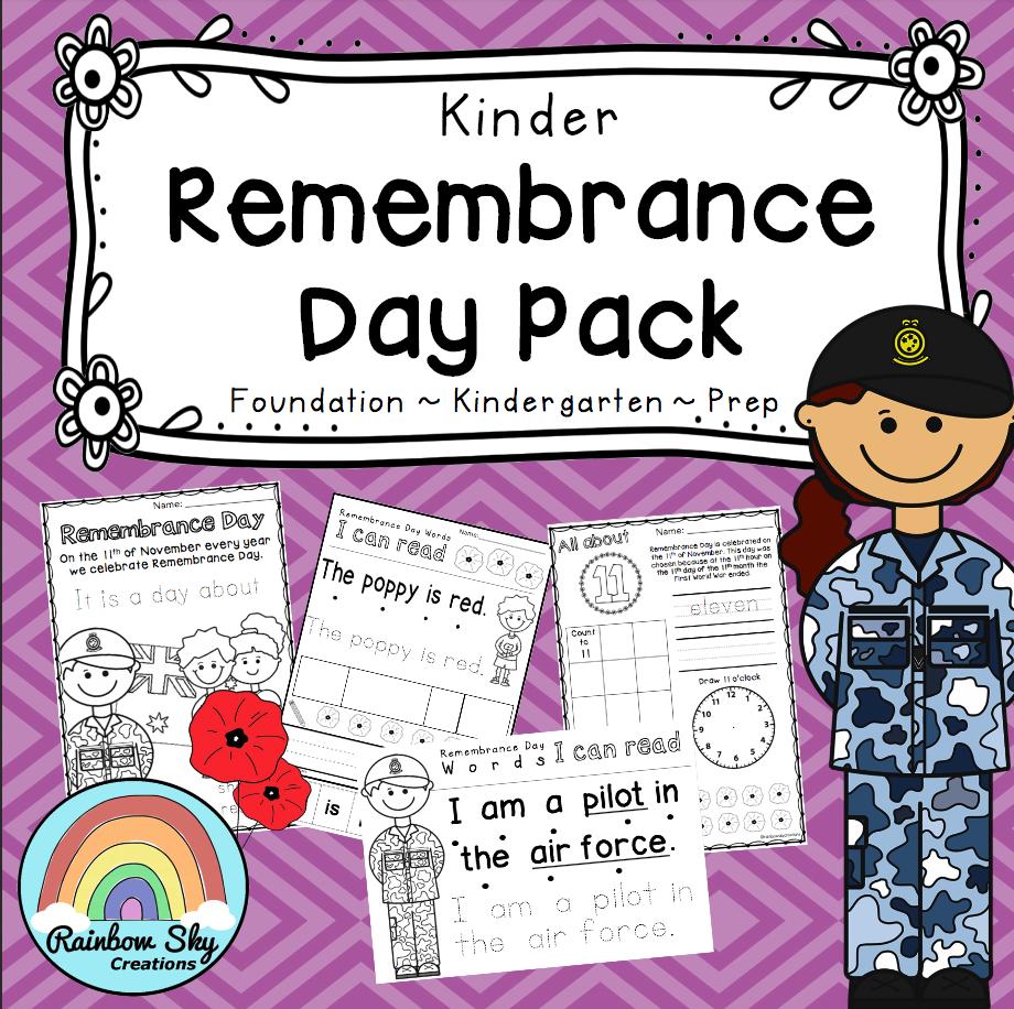 Kindergarten Print and Go Pack