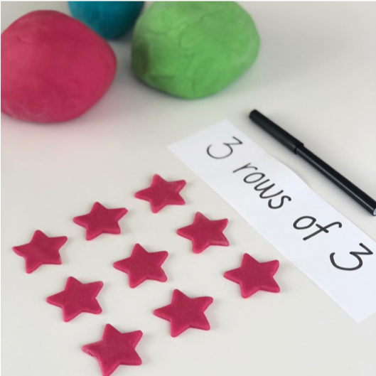 Multiplication-and-Division-Hands-on-Math-activities-and-games-playdough