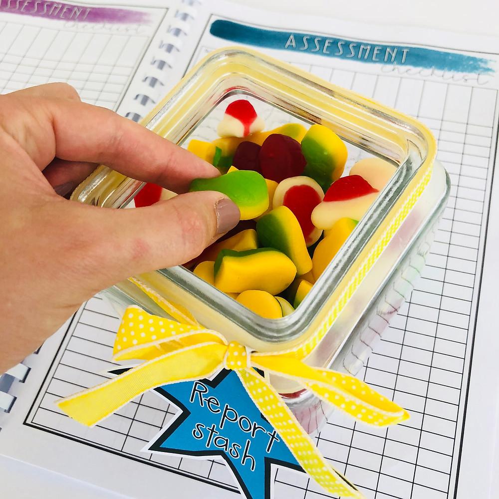 RSC Teacher Planner and Lolly Jar