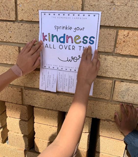 Kindness tear off flyer