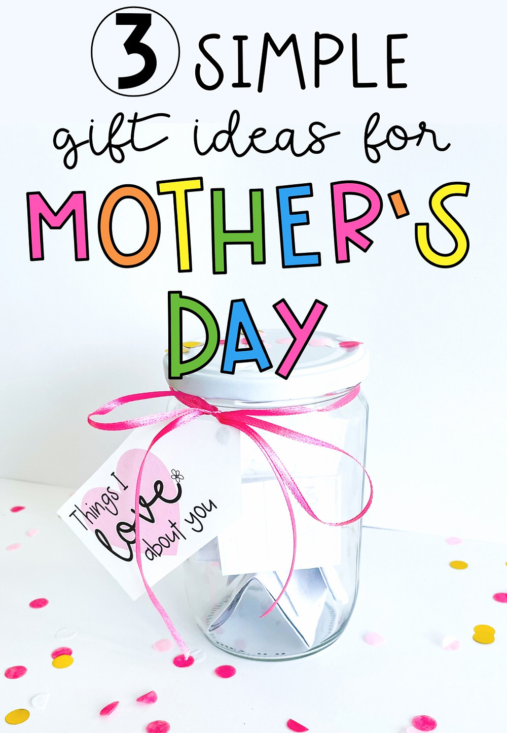 3 simple and heartfelt gift ideas for mothers day pin