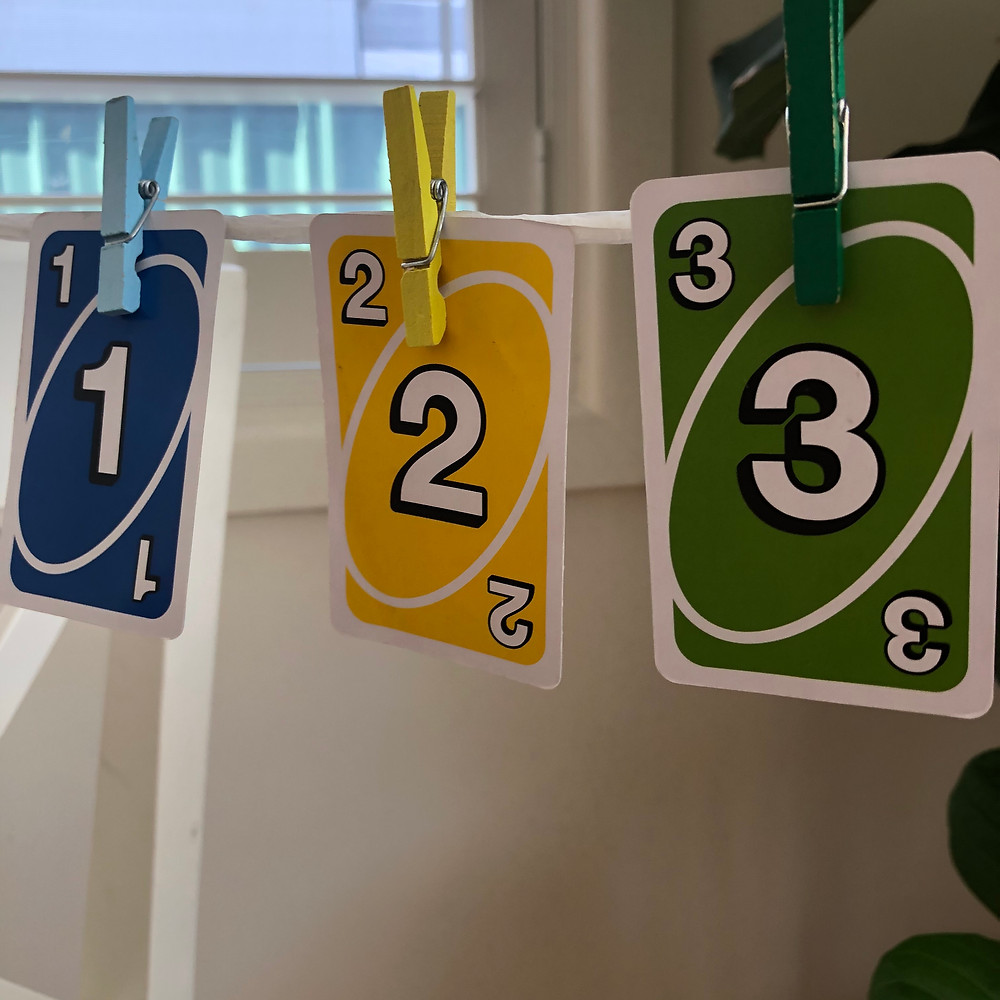 Uno-Cards-Making-a-Number-Line
