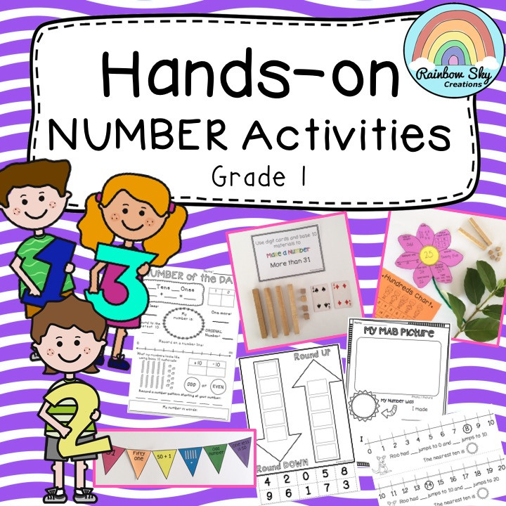Grade-1-hands-on-number-pack