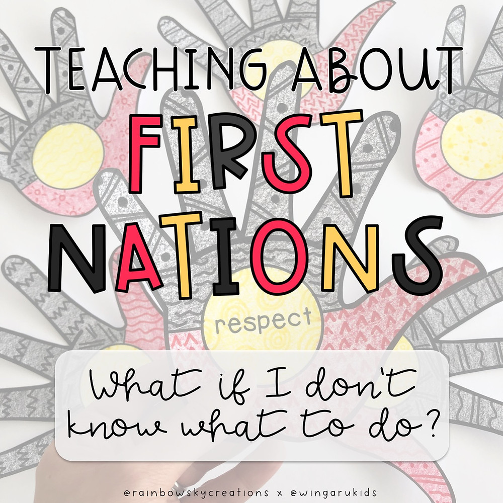 Teaching about first nations australia - teacher help title