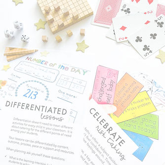 Maths lesson ideas for teachers