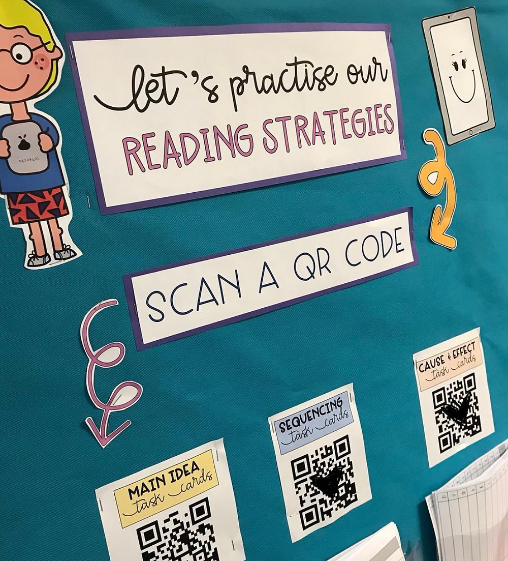 Use QR codes to access apps and websites easily