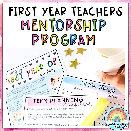 6 Month Mentorship for First Year Teachers