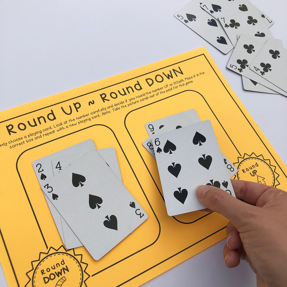 Rounding-card-game