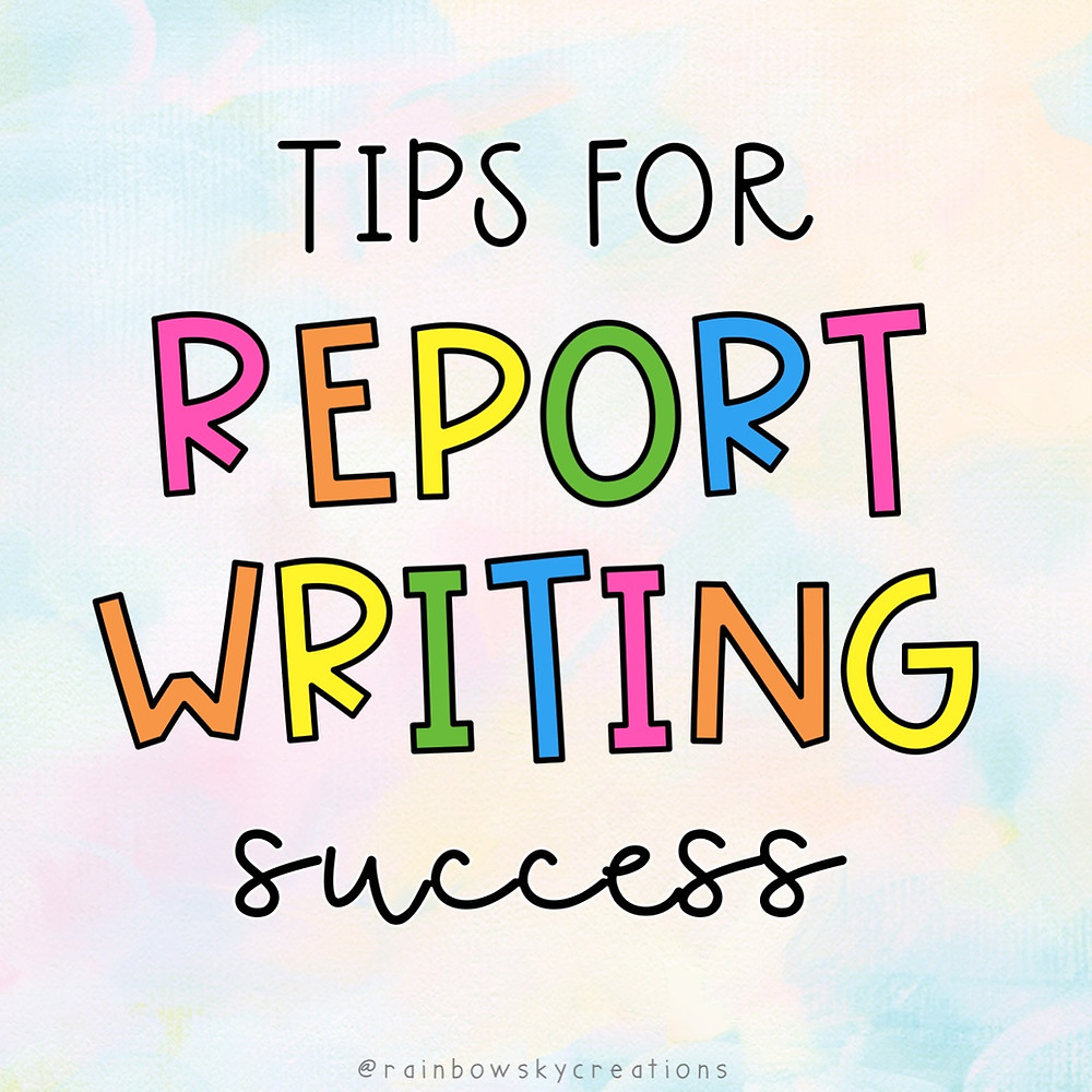 Tips-for-report-writing-success