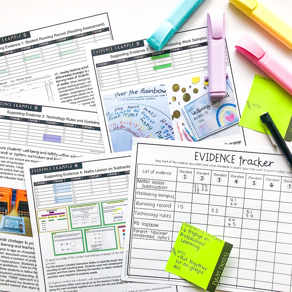 teacher-evidence-portfolio