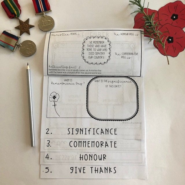 Remembrance Day Flipbook