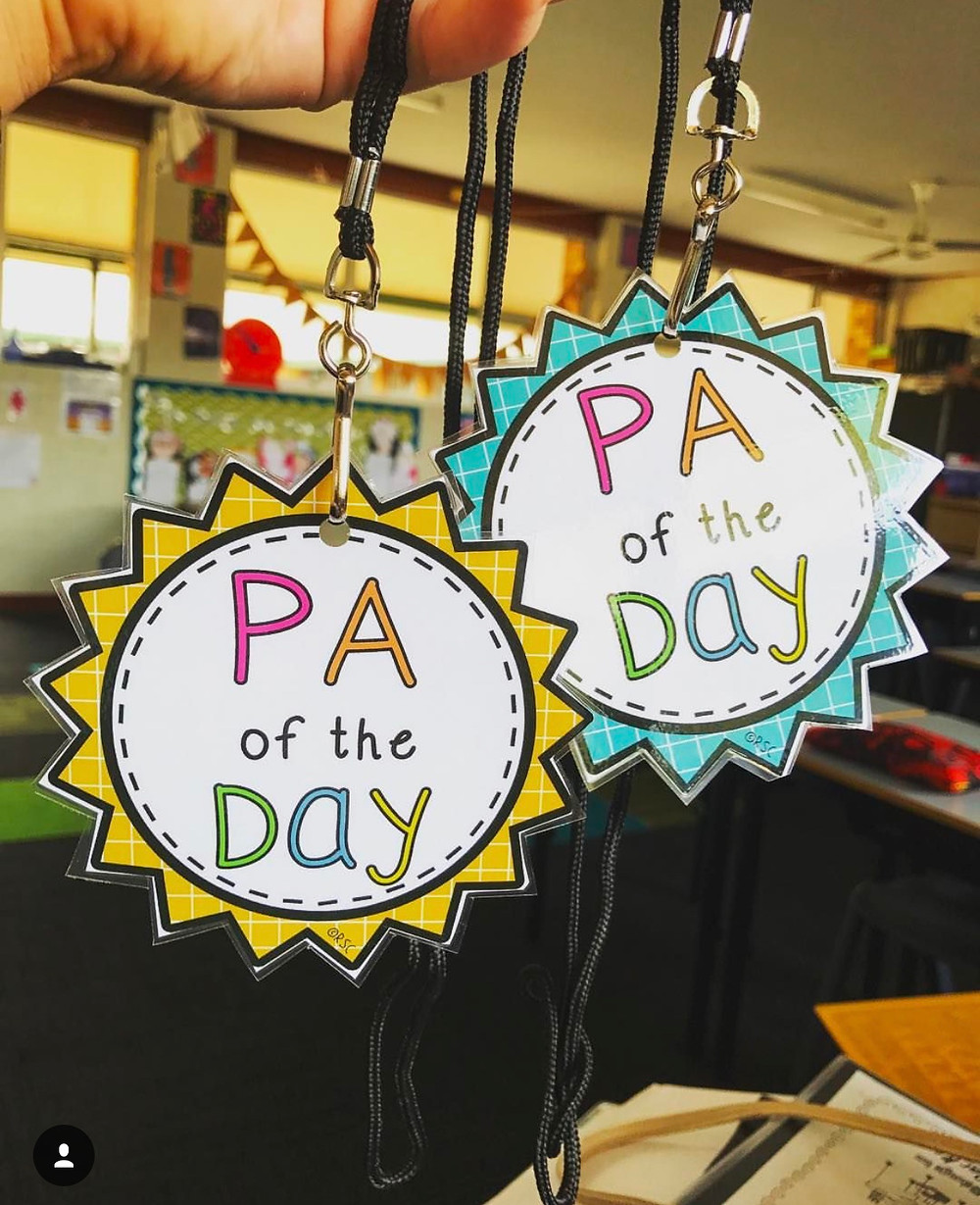 PA of the Day lanyards