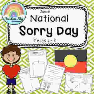 Year 1-2 Sorry Day Pack
