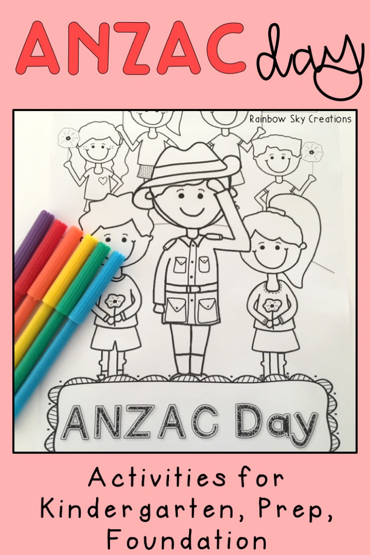 ANZAC Day Activities for Kindergarten