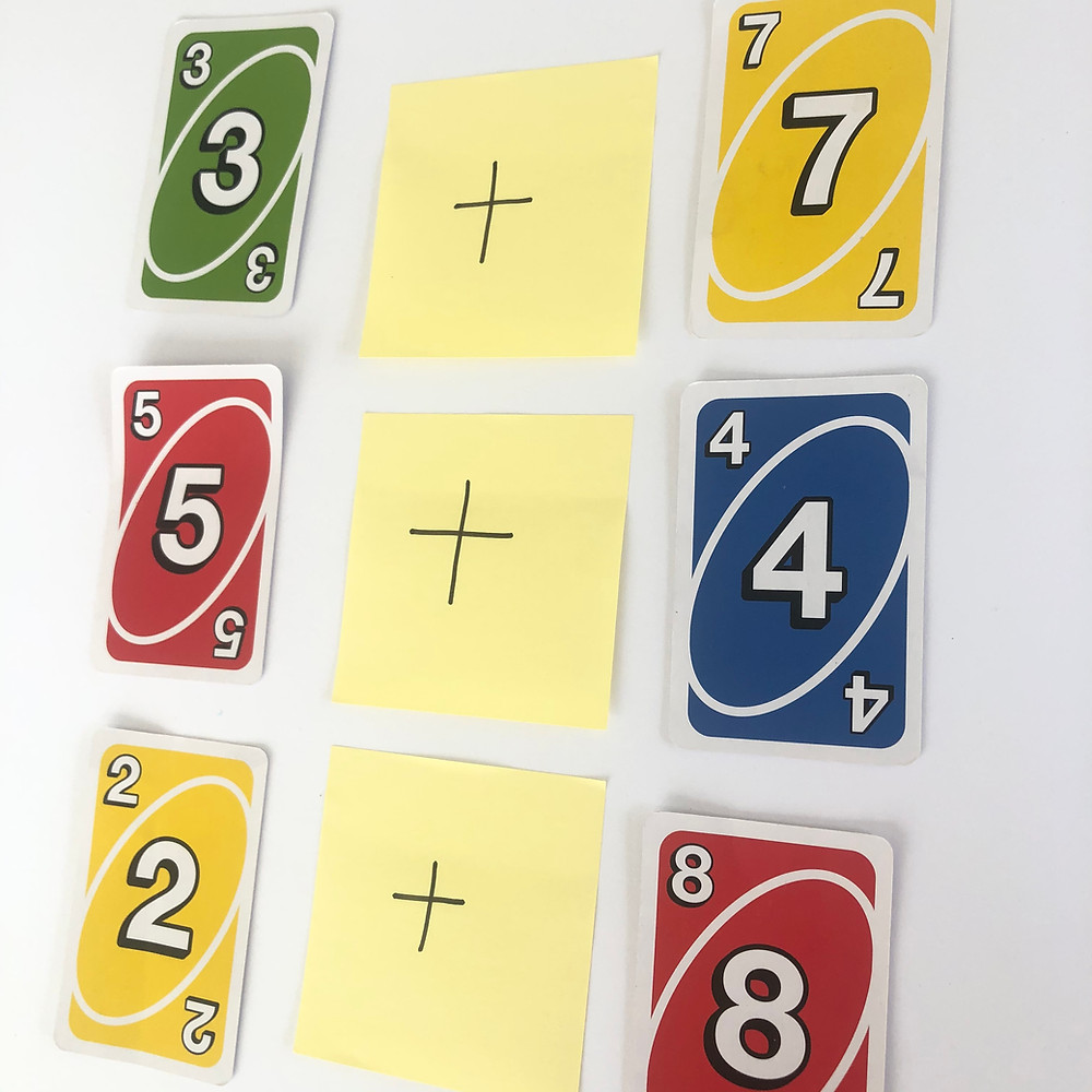Uno-Cards-Single-Digit-Addition