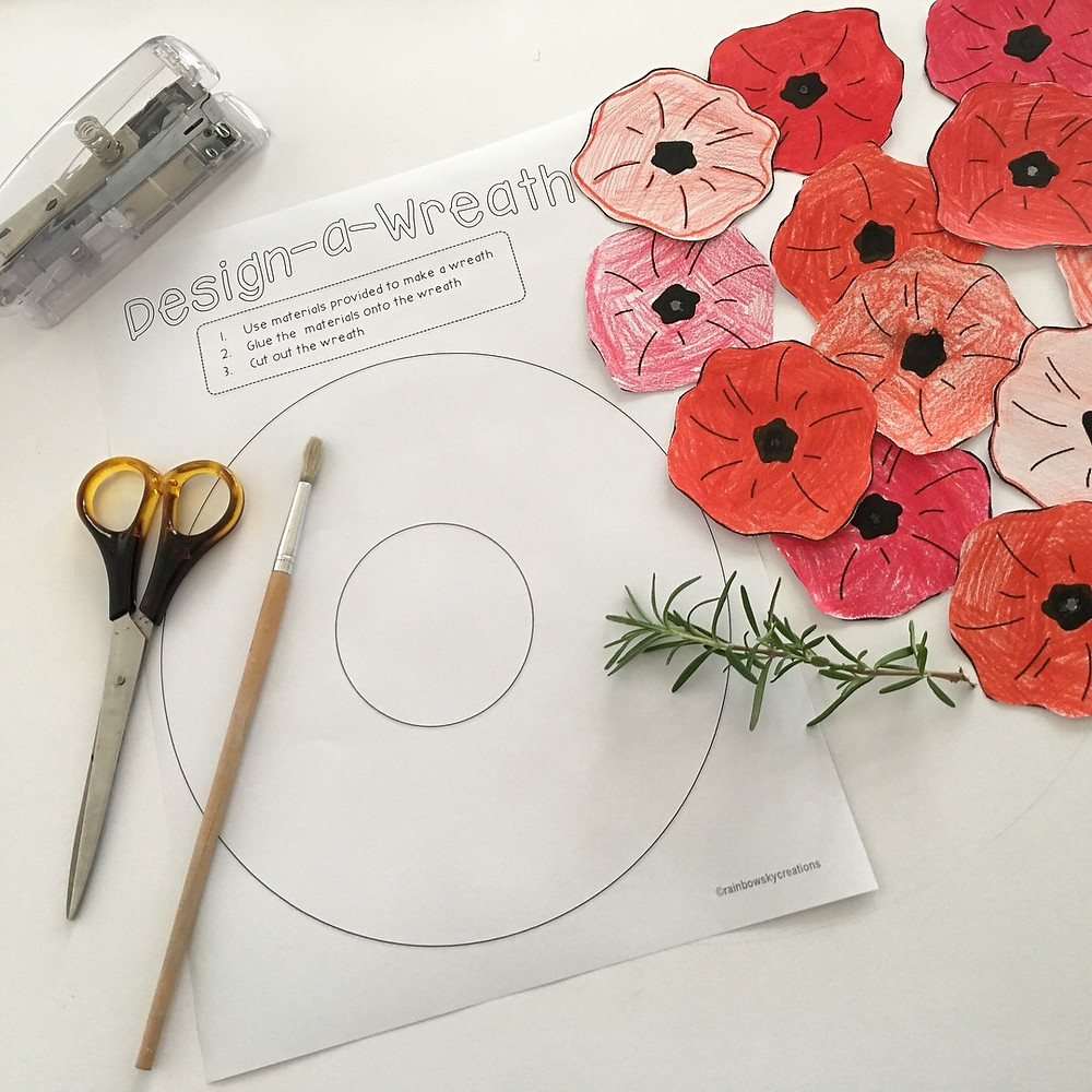 ANZAC-wreath-design-task