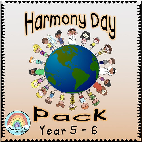 Year 5 - 6  Harmony Day Pack