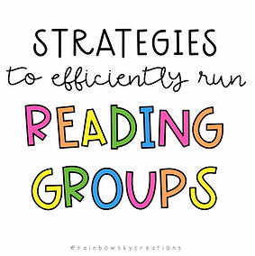 Strategies to efficiently run reading groups in your classroom