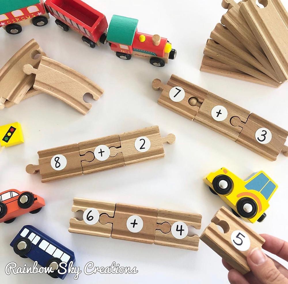 Addition-fluency-number-sentences-train-set