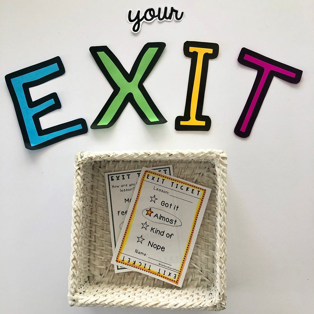 exit-tickets