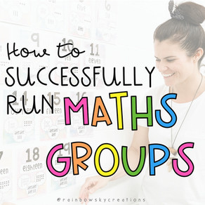 How to Run Maths Groups with Success