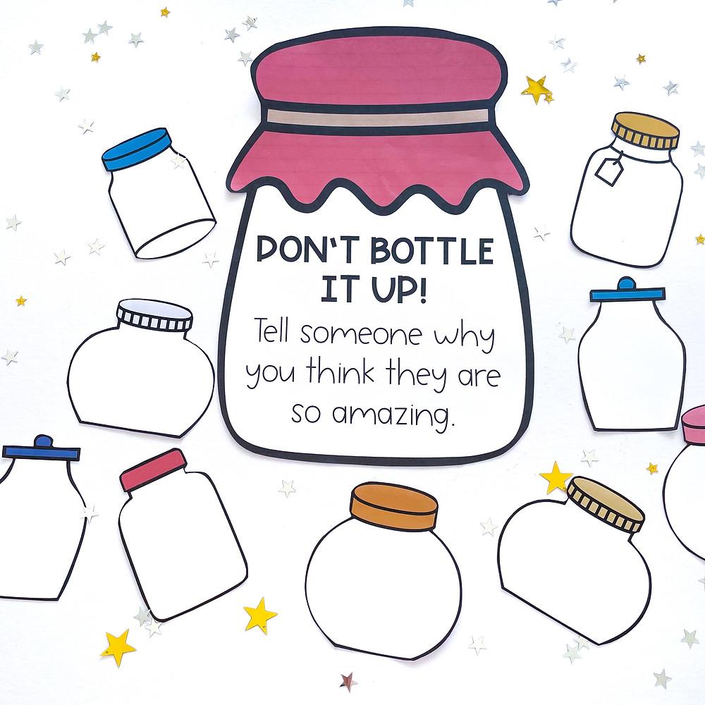 Paper compliment Jars by RSC