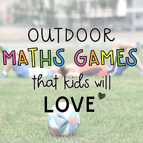 Outdoor maths games that kids will love playing at school or at home
