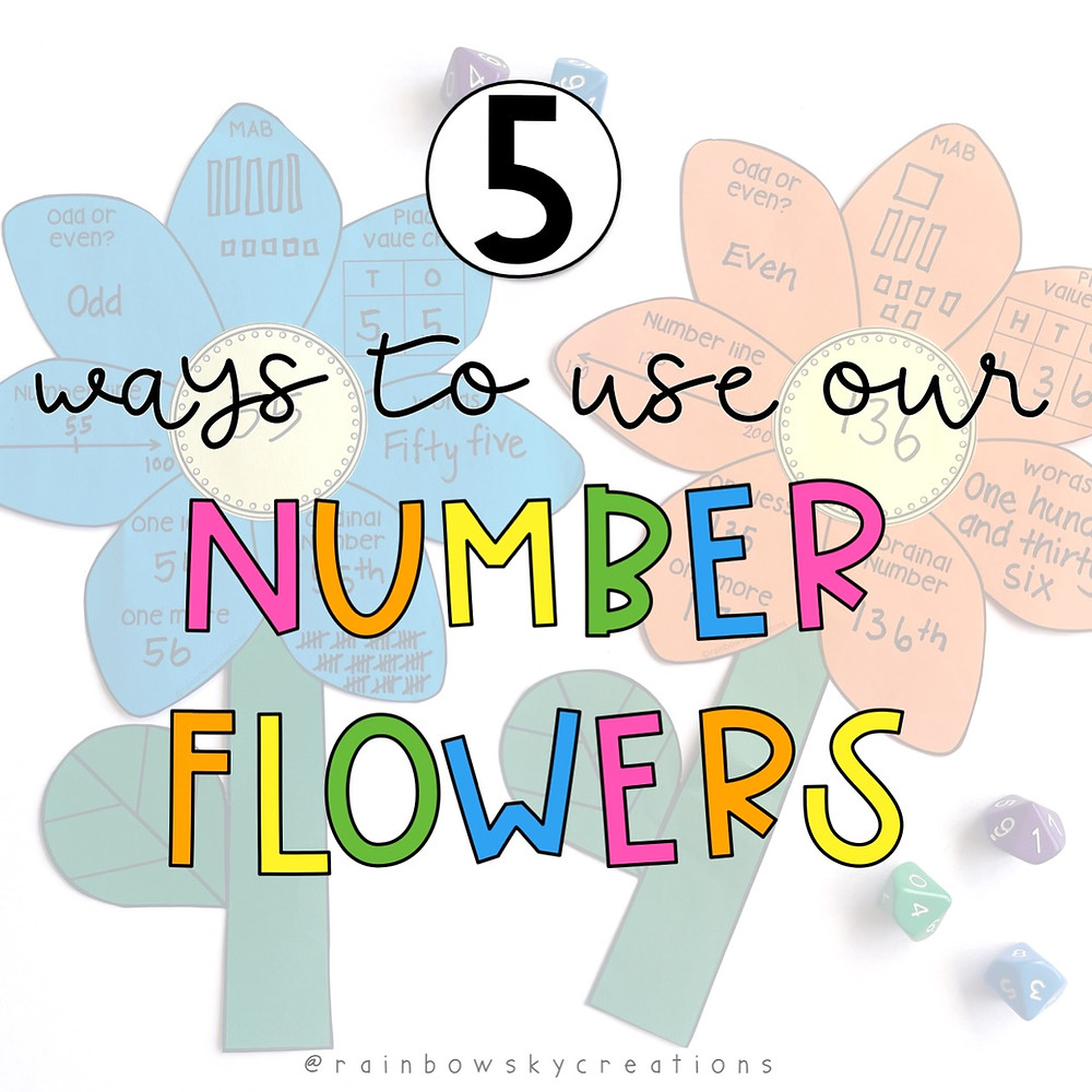 Ways-to-use-number-sense-flowers-in-your-classroom