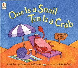 one-is-a-snail-ten-is-a-crab-learning-math-through-books