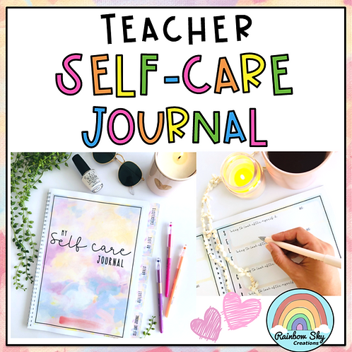Teachers Self- Care Journal