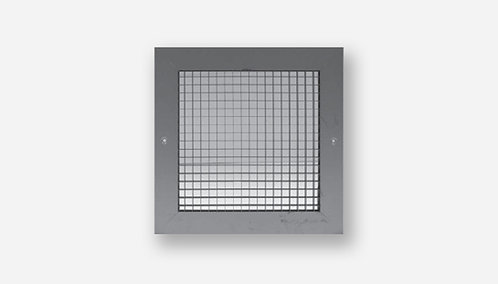 EGG CRATE GRILLES WHITE