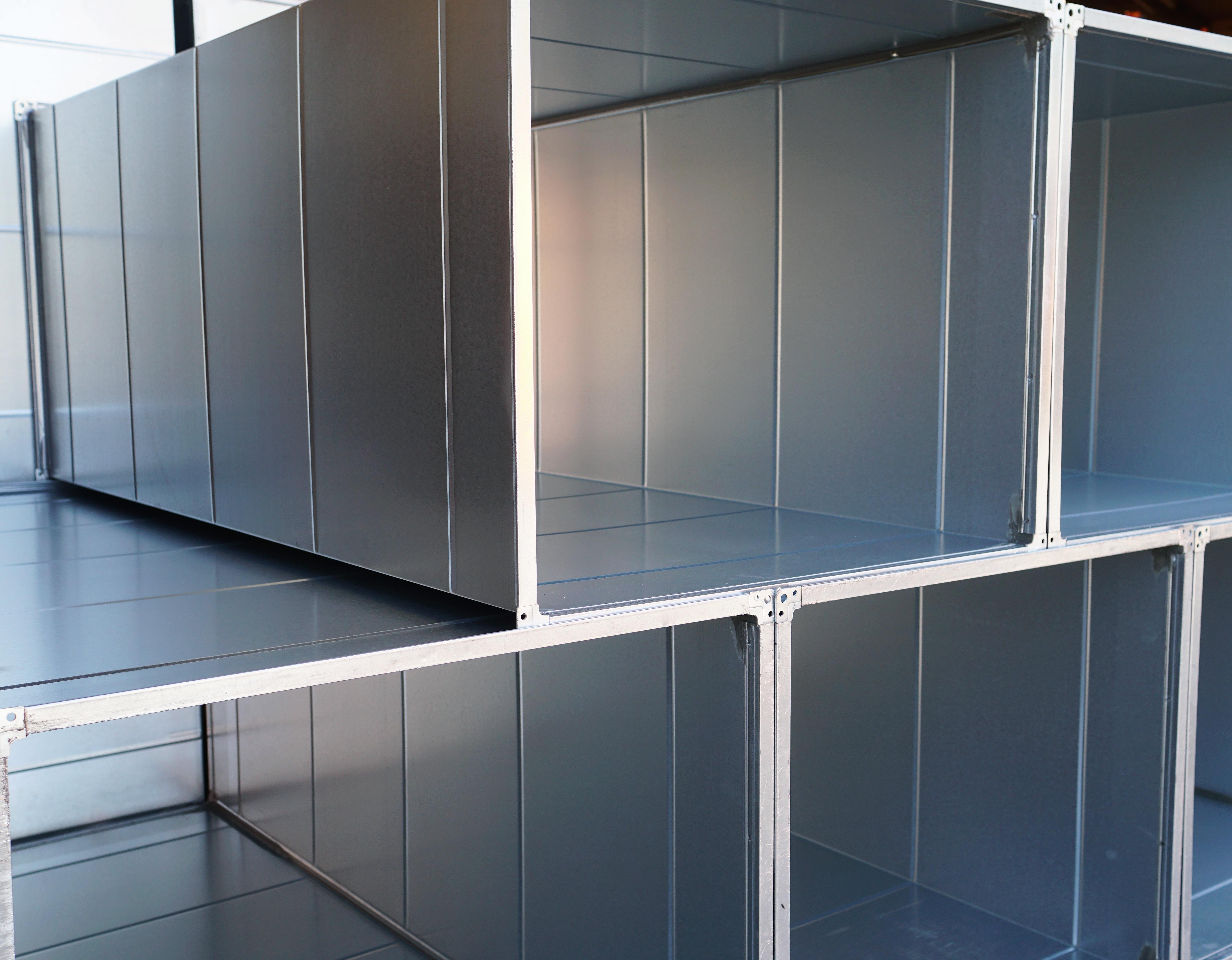 Bespoke rectangular ductwork