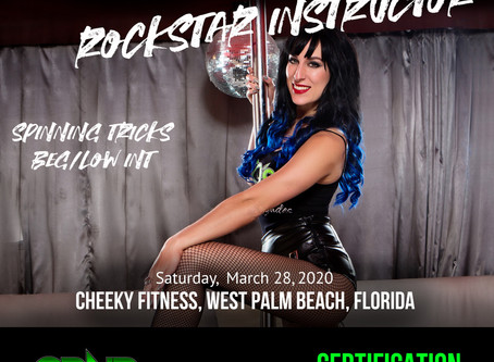 Have A Cheeky Weekend with Pole Dance Celeb Gemma Lux at Cheeky Fitness!