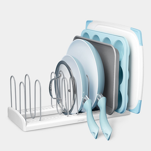 Adjustable Pan & Lid Rack