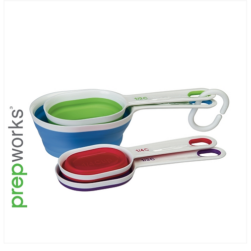 Collapsible Measuring Cups (Oval)