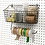 Thumbnail: Pegboard Basket w/ Paper Towel Holder