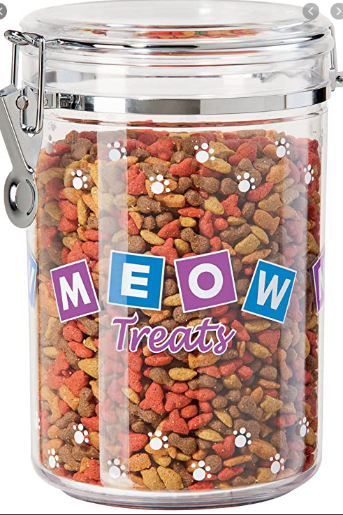 Meow Treat Canister SM