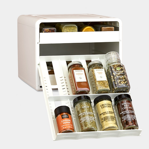Adjustable Spice Rack Organizer