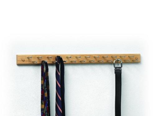 Tie & Belt Organizer (24-Peg)