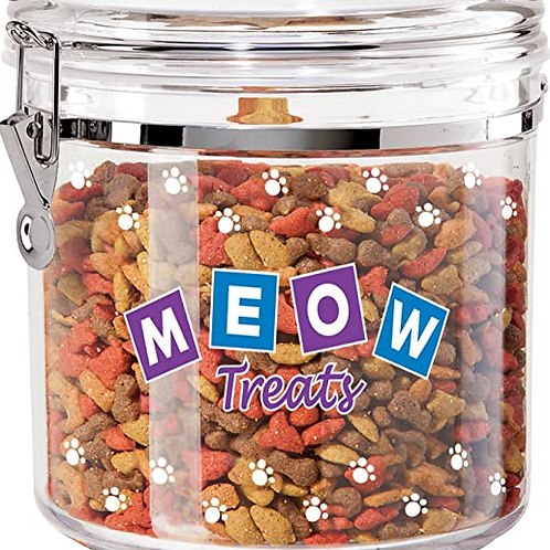 Meow Treat Canister LG