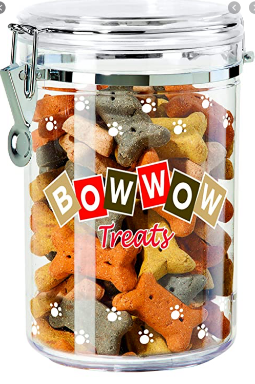 Bow Wow Treat Canister SM
