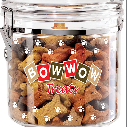 Bow Wow Treat Canister LG