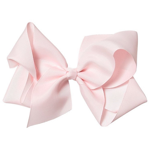 Icy pink bow