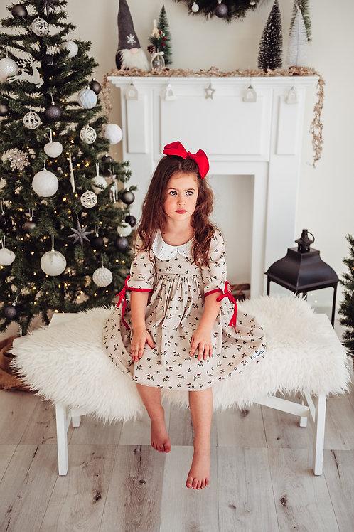 Festive robin dress