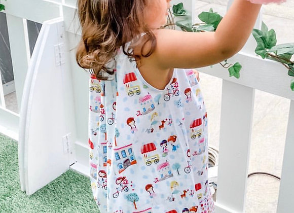 French themed dress