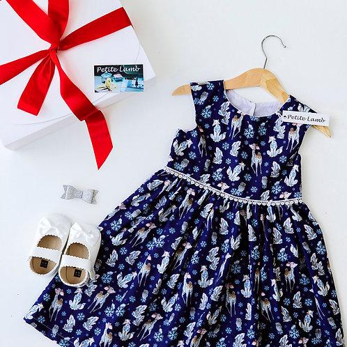 Navy festive dress