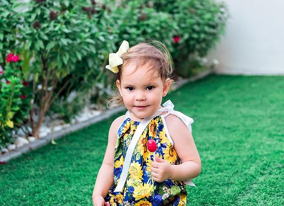 Sunflower bloom dress