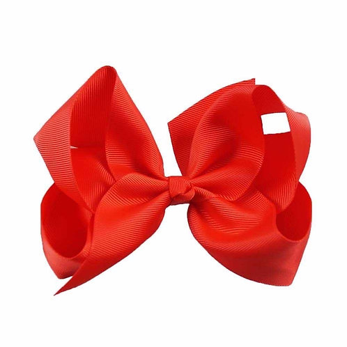 Poppy Red bow